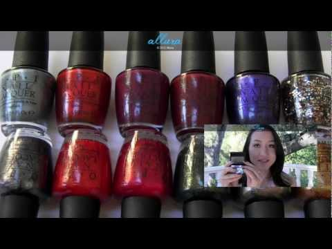 OPI Skyfall 007 Bond Collection: Live Application & Review