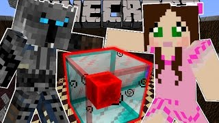Minecraft: UNLUCKY BLOCK CHALLENGE (BLOCK OF PURE EVIL!) Custom Command