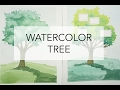Download Video 2 ways to paint a Tree in Watercolor (plus how to make it into a Family Tree) MP3 3GP MP4 FLV WEBM MKV Full HD 720p 1080p bluray
