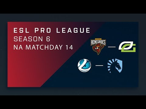 CS:GO: Renegades vs. OpTic | Luminosity vs. Liquid - Day 12 - ESL Pro League Season 6 - NA Main