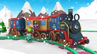 Christmas Cartoon - Toy Factory - Choo Choo Train - Winter Fun for Kids