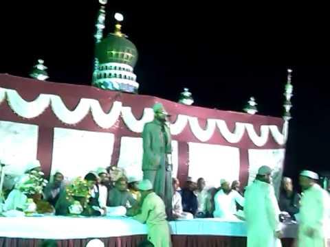 Asad Iqbal Naat ,lal Gopalganj, Nindoora Jalsa 2014. video
