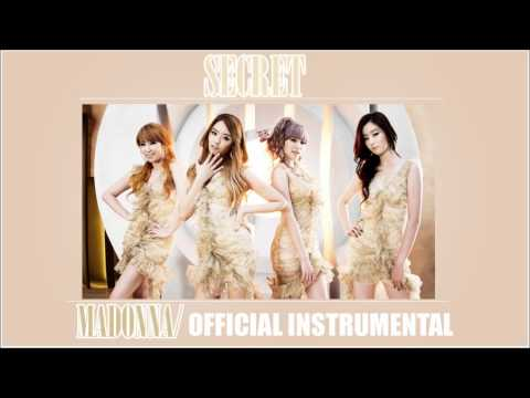 Secret [시크릿]/ Madonna [OFFICIAL INSTRUMENTAL]