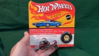 What Is The Car On The Original Hot Wheels Red Line Package?