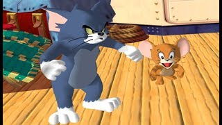 Tom and Jerry War of the Whiskers - Tom and Jerry vs Monster Jerry Robocat - Animation Cartoon Games