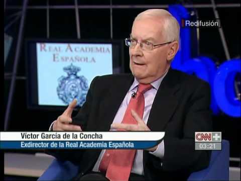 Entrevista a Víctor García de la Concha (R.A.E.)