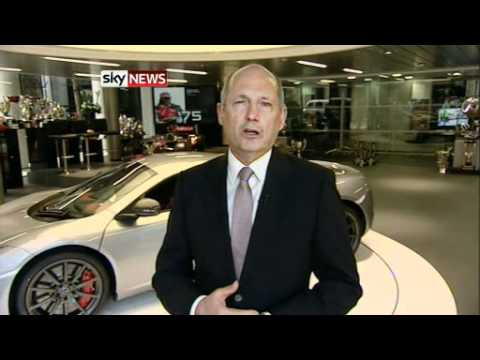 Ex-Formula One McLaren Boss Ron Dennis Tells Sky News He Is 'Very Nervous' About Sport's Future