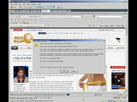 How to avoid Malware attack and phony antivirus ads