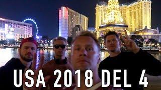 USA 2018   Las Vegas   En kväll i VEGAS (VLOGG #53)