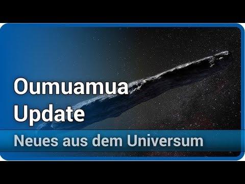 Oumuamua - Beschleunigung durch Sonnenwind? • Neues aus dem Universum | Josef M. Gaßner