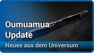 Oumuamua - Beschleunigung durch Strahlungsdruck? • Neues aus dem Universum | Josef M. Gaßner