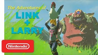 Waking Up a Sleeping Hinox 💤 | The Adventures of Link and Larry the Cucco | Play Nintendo