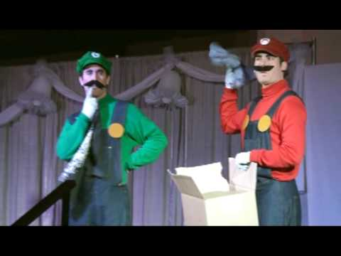 The First of 7 installments in the Super Smash Brothers 3000 Epic Battle Super show Performed at Florida Supercon on June 6th 2009. In this show, Peach and Mario are finally tying the Knot, but dark forces seem to have other plans for the 3000 Brigade.