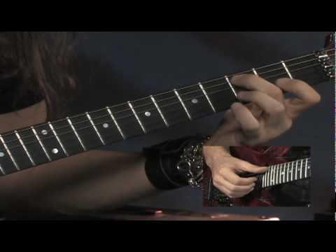 Kiko Loureiro, from his Rock House DVD CREATIVE FUSION, Beyond Power Chords&Pentatonics