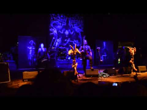 Belphegor - Lucifer Incestus + Intro \ Carpathian Alliance 2014, Ukraine
