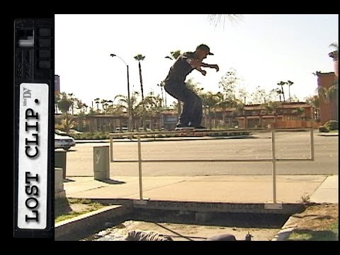 Omar Hassan Lost & Found Skateboarding Clip #57