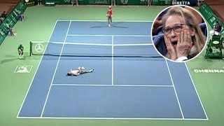 When Tennis Turns Into WAR! Most BRUTAL Match in Tennis History (Rafael Nadal VS. His Future Coach)