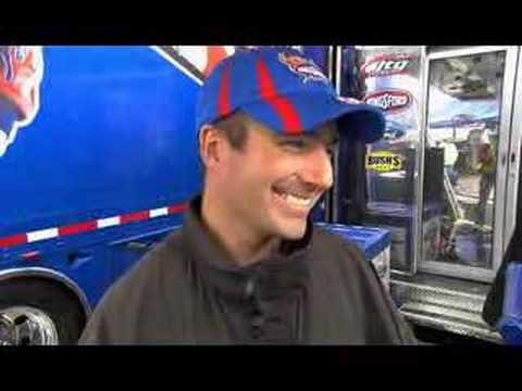Marcos Ambrose - Rain delay Interview Race 5 @ Bristol Video