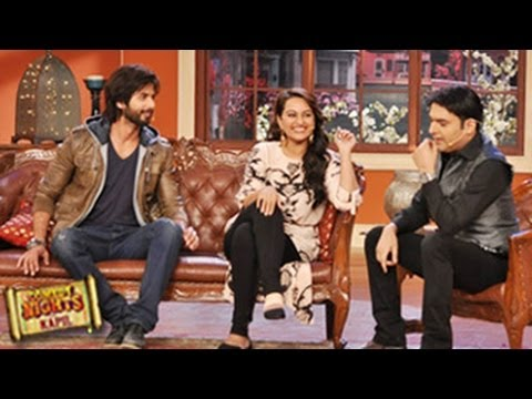 Comedy Nights With Kapil 8th Dec 2013 Episode Sonakshi Sinha, Shahid Kapoor SPECIAL