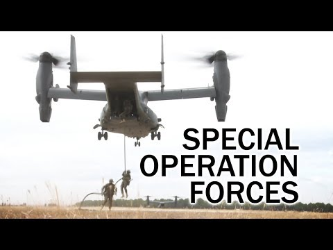 NATO Special Operations Forces (SOF) in Exercise Trident Juncture 2015