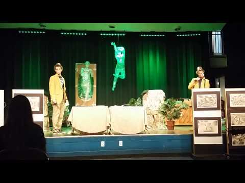 Sarasota Military Academy's Poetry Cafe 2014