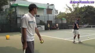 HLV Trương Quang Vũ hướng dẫn khởi động Tennis Phần 1