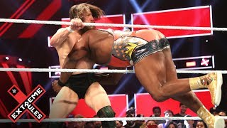 Big E spears Daniel Bryan off the ring apron: WWE Extreme Rules 2019 (WWE Network Exclusive)