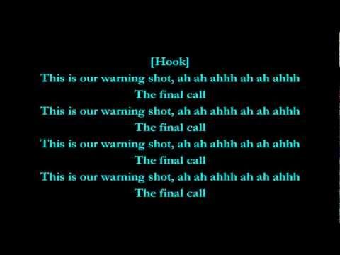 Warning Shot - Machine Gun Kelly feat. Cassie (Lyrics) HD