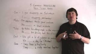 5 Common Irregular Past Tense Verbs
