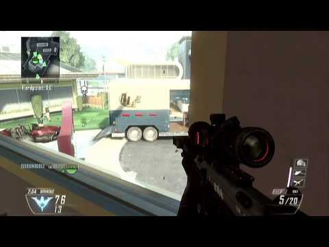 Black Ops 2: Fun with snipers with Ninja Spy Alche - GGB