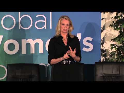 2015 Global Women's Forum - Part 5 features BBC World News America anchor Katty Kay