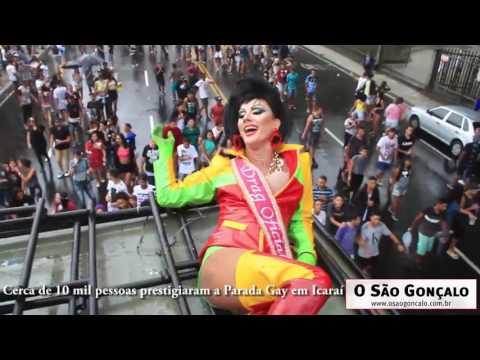 Cerca de 10 mil pessoas curtiram a Parada Gay em Niteroi