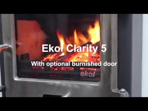 EKOL CLARITY 5 BURNISHED DOOR