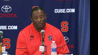 Download Dino Babers vs. Clemson Postgame 3Gp Mp4