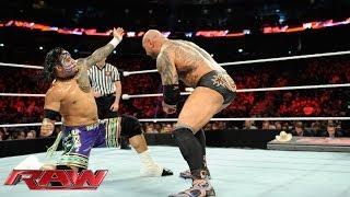 The Usos vs. Batista & Randy Orton - WWE Tag Team Championship Match: Raw, April 7, 2014