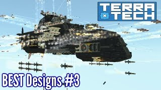 AMAZING Battle Airship!!   BEST Terratech Steam Designs   Part 3
