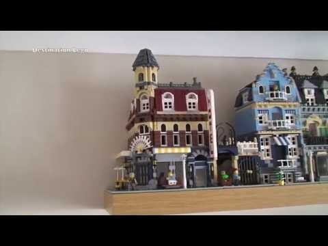 Lego Cafe Corner Review Jangbricks