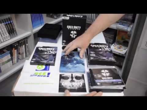 Распаковка Call of Duty. Ghosts (PC) все варианты