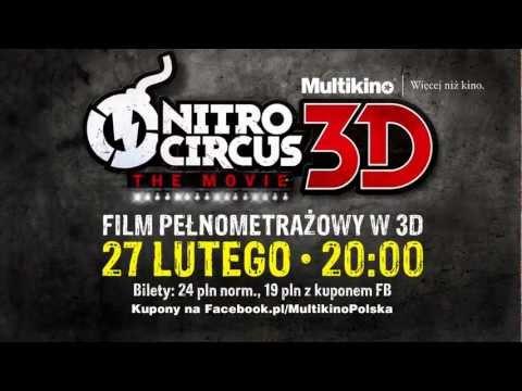 NITRO CIRCUS 3D - polska premiera 27 lutego tylko w sieci Multikino!