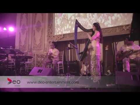 Ayam Den lapeh -  Vocal and Harp Angela July at Sasana kriya | Cover By Deo Entertainment ALL STARS
