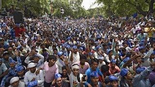 सहारनपुर दंगा : जंतर मंतर पर भीम सैनिकों का प्रदर्शन