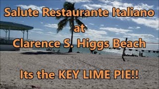 Salute Restaurant at Higgs Beach in Key West: Its the KEY LIME PIE