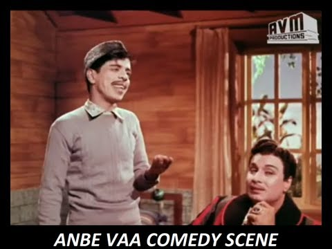Anbe Vaa Comedy - Mgr, Nagesh And Manorama video