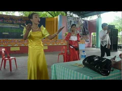 Balagtasan Tungkol Sa Wika (labangal National High School Champion) Division Contest video
