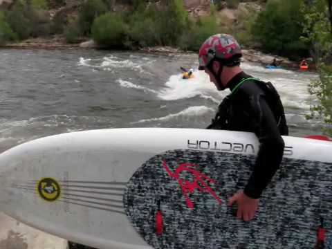 C4 CKS Colorado River SUP Surfing