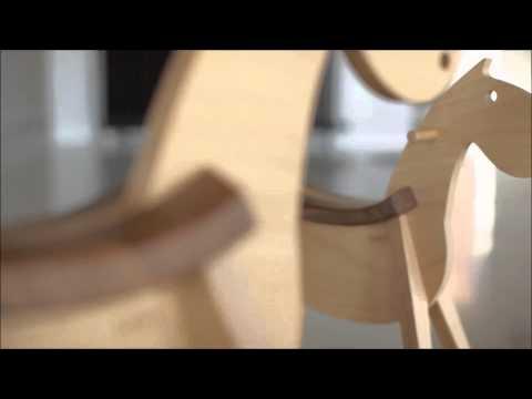PARIPA / MUSTANG rocking horse