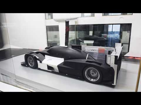 Ginetta LMP1 TIME LAPSE WIND TUNNEL