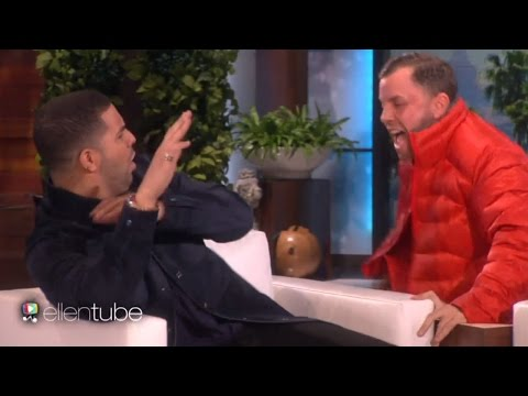 Drake Gets Scared By Ellen, Gets Grilled About Rihanna & Talks Hosting SNL