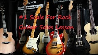#1 Scale For Rock Guitar Lesson