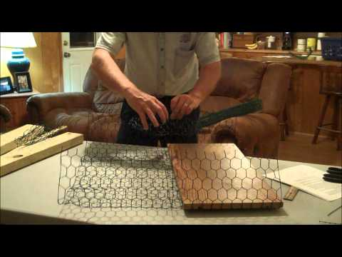 Making a Shallow Water Crab Trap Part 1